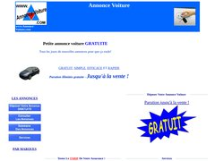 Annonce Voiture