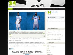 Détails : Maillot  football