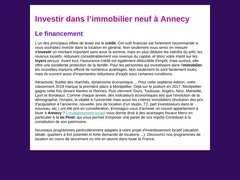 Détails : Immobilier neuf annecy