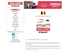 Wallonie D'Abord