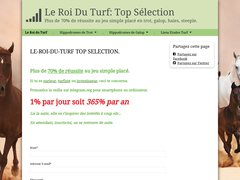Détails : Le-roi-du-turf - Top selection.